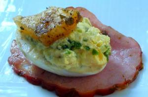 Deviled Green Eggs And Ham Easy Picnic Ideas And Recipes