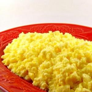 Salted Scrambled Eggs