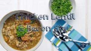 Pressure Cooker Chicken Lentil And Bacon Stew 1019648 By Legourmettv