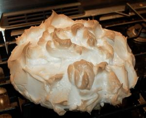 Lemon Meringue Pie Sweetened With Caster Sugar