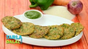 Mini Rava Vegetable Pancakes 1019835 By Tarladalal