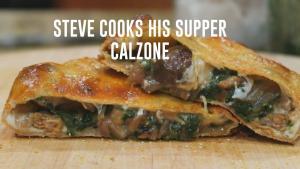 Sausage And Mushroom Calzone 1018894 By Stevescooking
