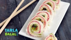 Pinwheel Sandwich 1017943 By Tarladalal