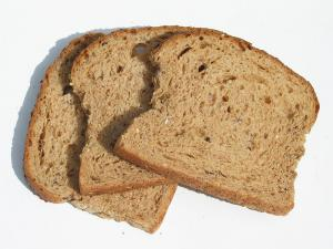 Whole Wheat Bread Sweetened With Molasses