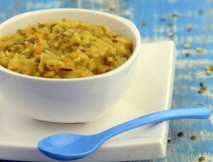 Vegetable Khichdi 7 To 9 Months Old Baby By Tarla Dalal
