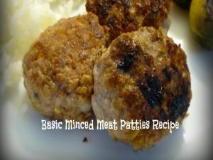 Basic Mince Patties
