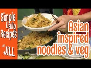 Asian Inspired Noodles And Vegetables 1017057 By Simpledailyrecipes