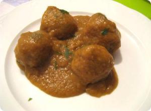 Low Calorie Meatballs