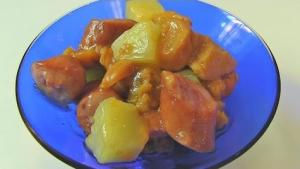Sausage Pineapple Casserole