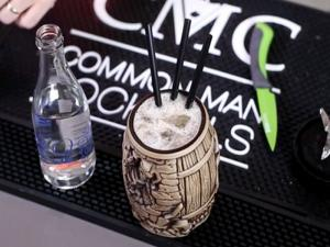 Mai Kais Barrel Of Rum Cocktail