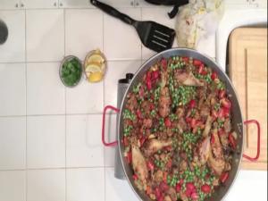 Spanish Paella Con Pollo