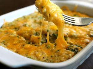 Quinoa And Broccoli Casserole