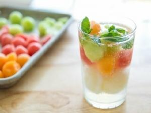 Triple Melon Sorbet Float