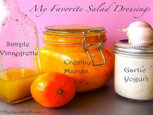 My Favorite Homemade Salad Dressings