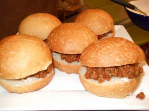 Spiced Sloppy Joes