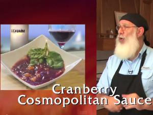 Cranberry Cosmopolitan Sauce