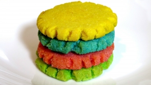 How To Make Rainbow Jello Cookies