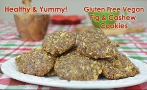 Vegan Gluten Free Cashew Cookies