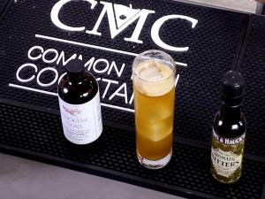 Rum Collins With Cocktail And Sons Oleo Saccharum
