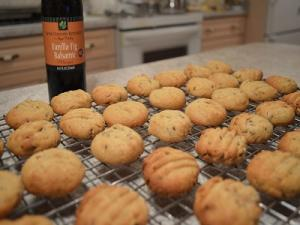 Napa Valley Vanilla Fig Balsamic Cookies