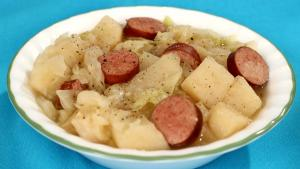 Crockpot Cabbage And Sausage 1017076 By Usafireandrescue