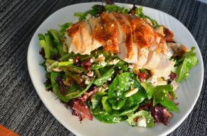 Chicken Cranberry Almond Salad Recipe With Citrus Champagne Vinaigrette 1015328 By Cookingwithcarolyn