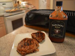 How To Grill Napa Jacks Merlot Bbq Eye Of Round Steaks