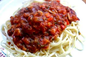 Italian Vegetable Spaghetti Sauce