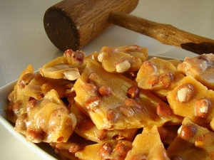 Butter Peanut Brittle