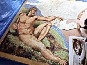 656528 Cake Artist Recreate Michelangelos Masterpiece