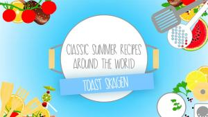 Classic Summer Recipes Toast Skagen 1015318 By Zoomintv