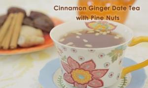 Cinnamon Ginger Date Tea