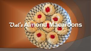 Vals Almond Macaroons 1018506 By Bettyskitchenfare