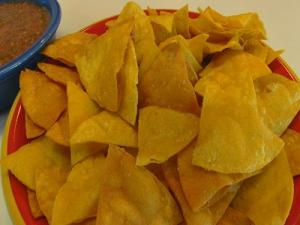 Deep Fried Corn Tortilla Chip
