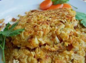Oatmeal Cottage Cheese Patties