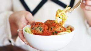 Loaded Italian Meatballs