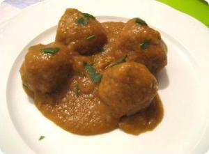 Gingered Meatballs