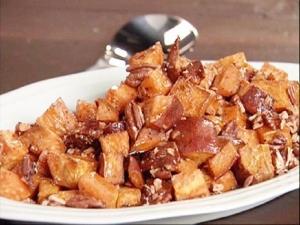 Sweet Potatoes In Orange Syrup