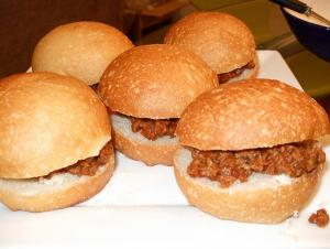 Sloppy Joes With Worcestershire Sauce