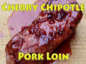 Cherry Chipotle Pork Loin