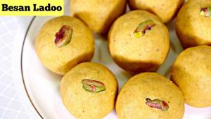 How To Make Besan Laddu Besan Ladoo 1018796 By Sruthiskitchen