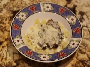 Chicken In Creamy Basil Sauce