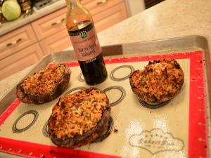 Stuffed Portabello Mushrooms With Balsamic
