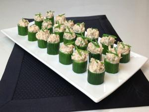 Cucumber Canape