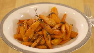 Maple Syrup Roasted Carrots 1012738 By Grateandfull