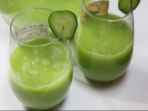 Melon Cucumber Juice