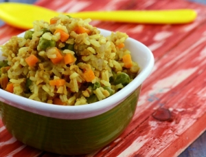 Soya And Vegetable Pulao 10 To 12 Months Old Babies By Tarla Dalal