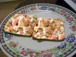 Colorful Shrimp Spread