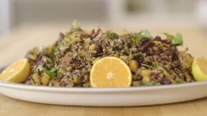Wild Rice Holiday Side Dish 1012635 By Grateandfull