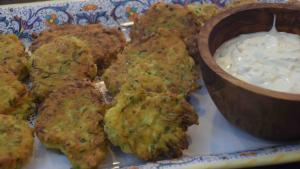 Fried Zucchini Fritters With Dipping Sauce 1019577 By Cookingitalianwithjoe
